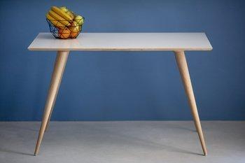 PLANET Rectangular Table 124x78x75cm - White