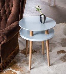 UFO Side Table diam. 45cm x H 61cm - Light grey