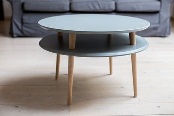 UFO Side Table diam. 70cm x H 45cm - Dark Grey