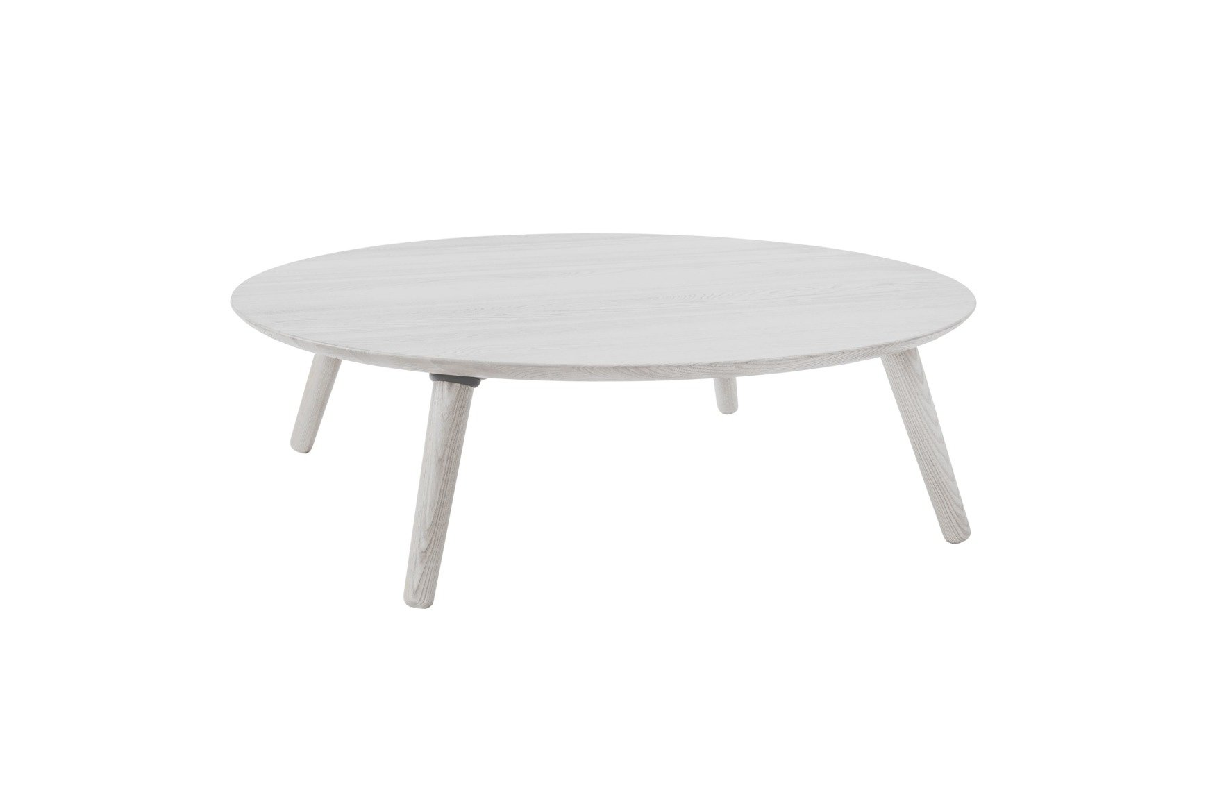 - Contrast SLICE Coffee Table 100x100x31cm- White Ragaba.de