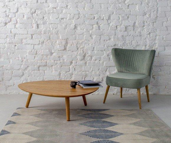 Contrast PICK Coffee Table 103x97x31cm - Oak