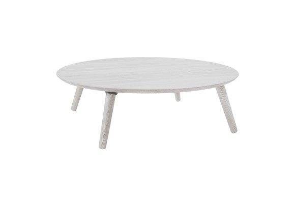Contrast SLICE Coffee Table 100x100x31cm- White