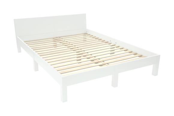 DABI Bed W 140cm x L 200 cm / White