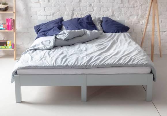 DABI Bed W 160cm x L 200 cm / Dusky Pink