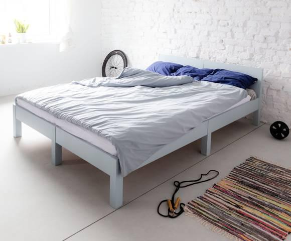 DABI Bed W 160cm x L 200 cm / Light turquoise