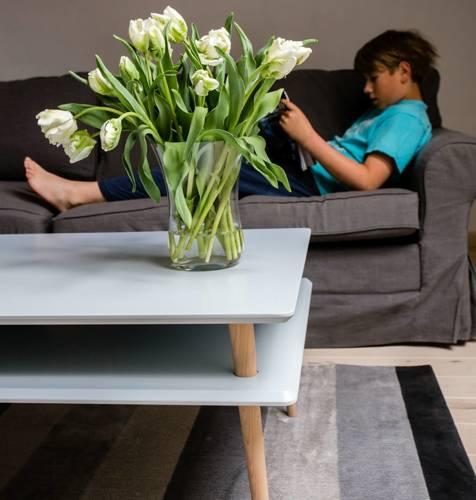 KORO high Coffee Table 110x70cm - Dark Grey