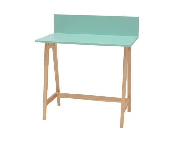 LUKA Ashwood Writing Desk 85x50cm / Mint