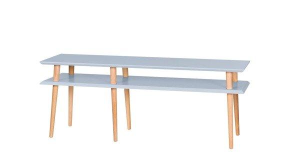 MUGO  Sideboard 139x40x45 - Light Grey