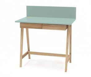 Luka Eschenholz Schreibtisch 110x50cm mit Schublade / Minze