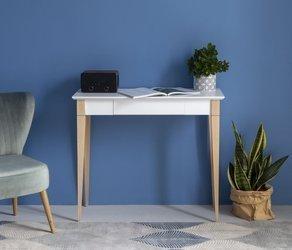 MIMO Schreibtisch 85x40cm  - Weiß