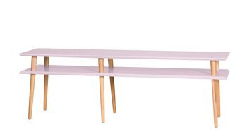 MUGO Sideboard 159x40x45 - Düsteres Rosa