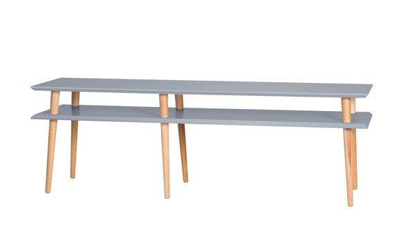 MUGO Sideboard 159x40x45 - Dunkelgrau